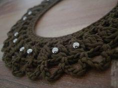 Crochet Necklace  https://www.facebook.com/hilaria.fina