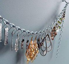 Creative Dangling Earring Organizer