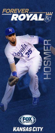 "2015 'Forever Royal' pole banners | FOX Sports - Eric ""The Hoss"" Hosmer"