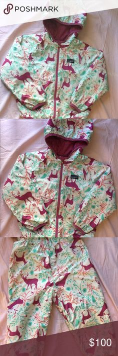 4T Patagonia Reversible Coat and Snow pants Excellent used condition. Smoke free home. Patagonia Jackets & Coats