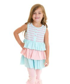 Another great find on #zulily! Cotton Candy Bella's Baby Doll Top - Infant, Toddler & Girls #zulilyfinds
