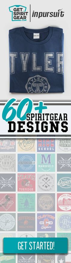 01d177ae Looking for a classic school t-shirt design for your next spirit gear  project?