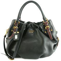Prada Handbags Price | tweet prada br4218 vitello daino leather hobo handbag black ...