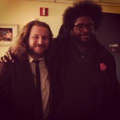 Jim James and Questlove....dynamic duo...love them