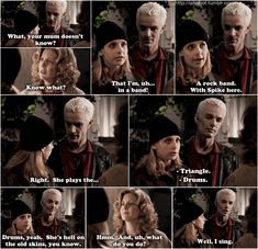 This is when I fell in love with Spike. | Buffy - 2x22 Becoming, Pt. 2 #spuffy #spikeandbuffy