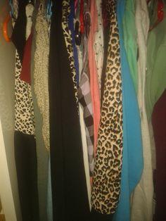 Dit zijn mijn kleren. Ik draag niet echt dingen die in de mode zijn alleen dingen die ik zelf mooi vind.