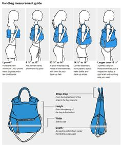 Sistah Hollywood • Handbag Measurement Guide Are you ever confused... | Fashion Stylist & Wardrobe Consultant · J.Hilburn Style Advisor