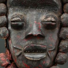 Bete Guere fetish mask, Ivory Coast