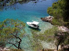 island solta,croatia best water in the world :)