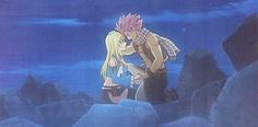 """sailoryas: """" God, I love how their holding hands! Fairy Tail Comics, Fairy Tail Art, Fairy Tail Ships, Fairy Tail Anime, Fairy Tales, Nalu, Fairytail, Fairy Tail Family, Fairy Tail Natsu And Lucy"""