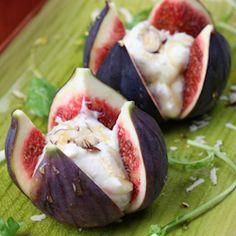 honey mascarpone figs