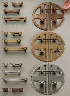 Copper Or Gold Hardware