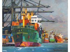 πινακεσ με πλοια - Αναζήτηση Google Tug Boats, World, Ships, Outdoor Decor, Fun, Travel, Posters, Paintings, Google
