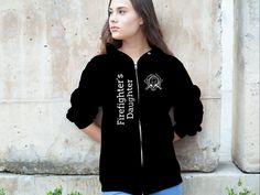 Firefighter's Daughter - Firefighter's Daughter Sweatshirt from SURAMA FASHION | Teespring