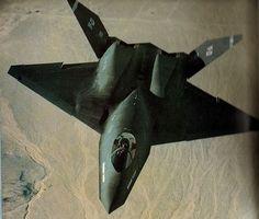 mysteryaircraft:  YF-23 Black Widow