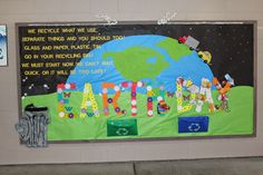 School Bulletin Boards: Earth Day Bulletin Board