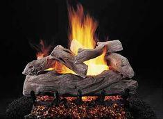 """Gas Logs :: Rasmussen :: Rasmussen Vented Log Sets :: 36 inch :: Rasmussen 36"""" Manzanita Log Set - Single Face - ML368"""