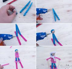 Craft Projects For Kids, Diy Crafts For Kids, Easy Crafts, Arts And Crafts, Science For Kids, Activities For Kids, Brownies Activities, Olympic Crafts, English Projects