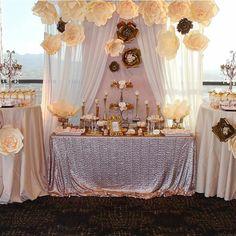 Super idea para mesa de dulces. Perfecta para tu fiesta. #candybar #party
