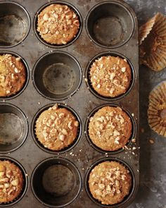 Butternut Squash, Apple, and Hazelnut Muffins - Whole Living Eat Well