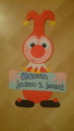 Bianca De Vries - Bentvelsen maakte deze vrolijke Jokie voor haar zoontjes verjaardag.