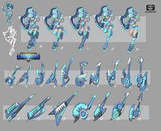 ArtStation - Cai wenji -concept for Dungeon Hunter Champions, Xuexiang Zhang