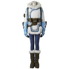 Overwatch Mei Cosplay costume €241.95