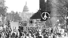 Vietnam War protest in Washington, on Moratorium Day, November 15, 1969.  What we wanted was to bring ourguys home, the war to end, peace among countires and people, bigotry to end, hunger to end. People first...we were full of hope