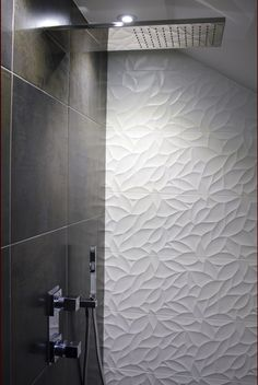 Fantastic 3D Tiles From The Porcelanosa Oxo Rnge Add Real Beauteous 3D Tiles For Bathroom Review