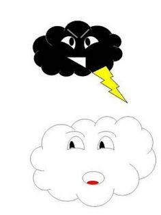 Escolinha Bíblica da Garotada  História para culto infantil  A nuvenzinha  preta f0eb0ced5520b