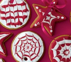 Recipes for shortbread cookies, gingerbread cookies, thumbprint cookies, icebox cookies and more! Get all our holiday cookie recipes here. Christmas Treats, Christmas Baking, Holiday Treats, Christmas Recipes, Christmas Holiday, Christmas Gingerbread, Holiday Cookie Recipes, Holiday Cookies, Royal Icing Cookies