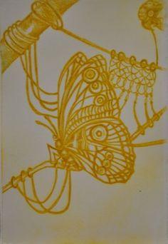 Clare Whitney Printmaking, Gold Necklace, Artist, Jewelry, Gold Pendant Necklace, Jewlery, Jewerly, Artists, Schmuck