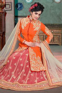Anarkali, Lehenga, Anita Dongre, Pastel Pattern, Manish Malhotra, Sabyasachi, Sonam Kapoor, White Silk, Blouse Designs