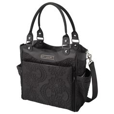 Petunia Pickle Bottom Spring 2013 Diaper Bag City Carryall Embossed Central Park North Stop