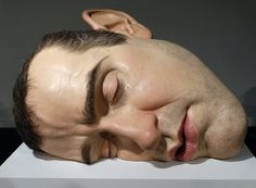 Ron Mueck Hyper-realistic Sculpture at MAM - Museum of Modern Art in Rio de Janeiro. 9 pictures. | by Carlos Vieira.