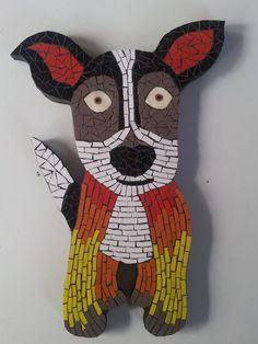 this is so cute!! Mosaic made by Creativity Wild Mosaics