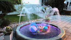 Water Fun for Children - New Fountain Model-Fountscape Oasis Decorative Fountains, Rooftop, Oasis, Terrace, Deck, Environment, Backyard, Children, Water