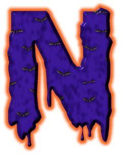 Alfabeto de murcielagos...N