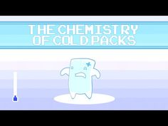 How do cold packs go from room temperature to near freezing in a matter of seconds?