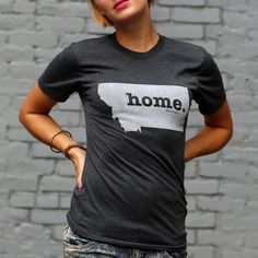The Montana Home T-shirt is a stylish way to show off your state pride, while also helping raise money for multiple sclerosis research.
