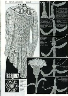 Duplet 134 Russian crochet patterns magazine - inspiration, irish crochet, freeform, lace, someday I'll order a copy