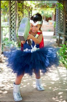 Thor inspired tutu dress... Grown up version for Halloween?