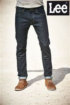 Lee® Luke Tapered Fit at Next Denim Jeans Men, Casual Jeans, Ripped Jeans, Black Jeans, Fashion Wear, Mens Fashion, Fashion Outfits, Outdoorsy Style, Main Squeeze