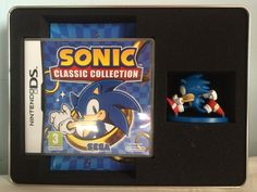 Sonic Classic Collection box content.