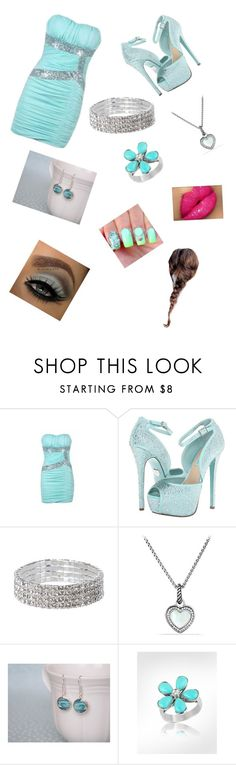 """""""birthday"""" by jazzy-iii ❤ liked on Polyvore featuring Ally Fashion, Betsey Johnson, David Yurman, Surfer Girl and Del Gatto"""