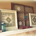 Winter Mantel     Ode to Inspiration