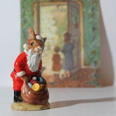 Royal Doulton Santa Bunnykins Happy Christmas DB by SugarLMtnAntqs, $34.95