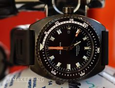 Timekeeping: Aquadive Bathyscaphe 100