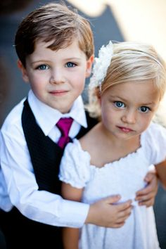 seth and veronica Angelic #FlowerGirl + #Ringbearer I Atelier Pictures I #prompose