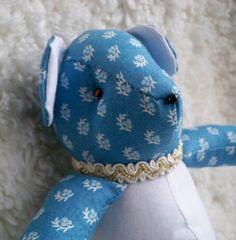 Martha the Little Teddy Bear by ellemardesigns on Etsy, $10.00